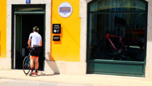 Lisbon bike rentals shop